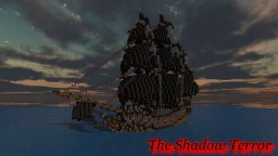 Pirate Galleon: The Shadow Terror Minecraft Map & Project