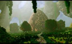 Huevo (Custom Terrain + Organic) Minecraft Project