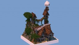 35x35 Medieval Plot Build Minecraft Map & Project