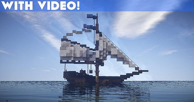 Drogo: Small Fishing Boat [With Video] Minecraft Project