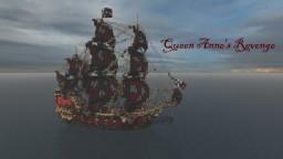 Galleon Queen Anne's Revenge Minecraft Map & Project