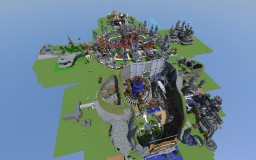 Server Spawn - 3-4 projects together. Minecraft Map & Project