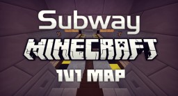 Subway | Minecraft 1v1 Map Minecraft Map & Project