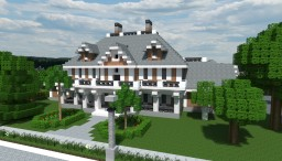 Neoclassical House Minecraft Map & Project