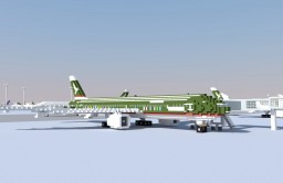 Boeing 777-300ER (Cathay Pacific Spirit of Hong Kong) Minecraft Map & Project