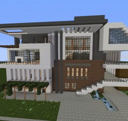 House From Pic Minecraft Map & Project