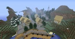 Mountain village (austria?) Minecraft Map & Project
