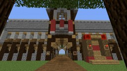 medieval spawn with pvp-arena(underground) Minecraft Project