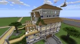 A big modern house