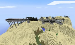 MC Heli And Flans Mod Air Force Base Minecraft