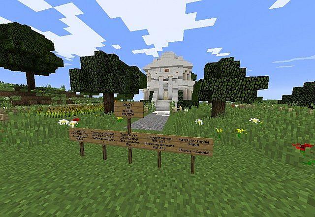 Minecraft 1 8 modern survival home minecraft project