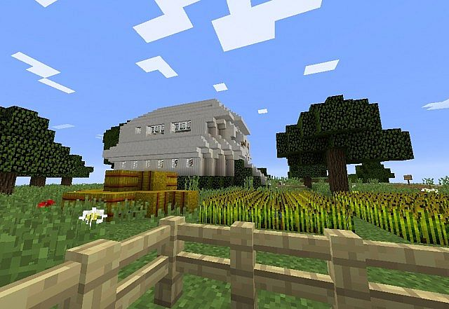 Minecraft 1 8 modern survival home minecraft project for Minecraft modern house download 1 8