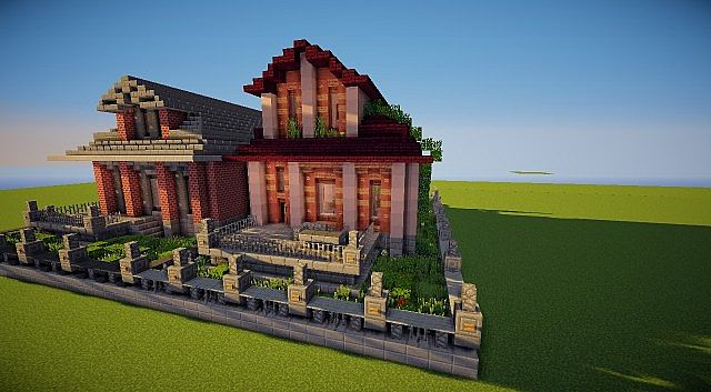 Grassmere Victorian House Minecraft Project