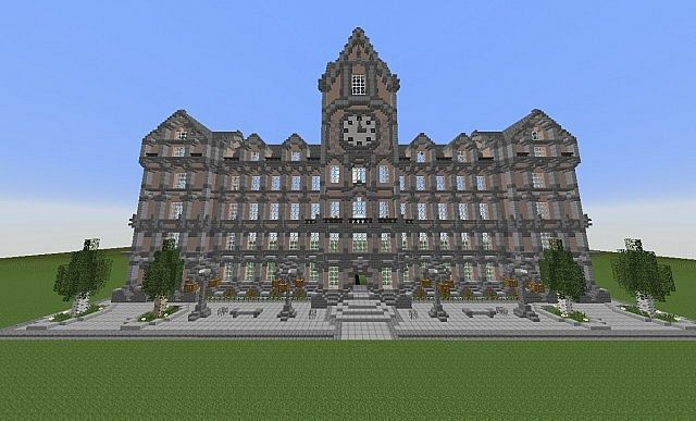 how to make a city hall in minecraft