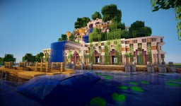 Hanging Gardens Of Babylon Minecraft Map & Project