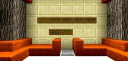 Fire Spleef Minecraft Map & Project