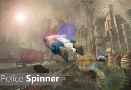 Blade Runner - Police Spinner [Hover Car] - Pop reel! Minecraft Map & Project