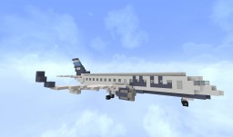 [Airplane] Embraer 190-100 (E90) Minecraft Map & Project