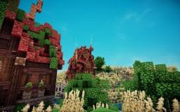 [109x109 plot] Fantasy house Minecraft Map & Project