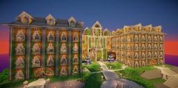 YellowStone Palace -BrokenBlock Minecraft Map & Project