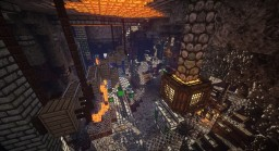 Old mineshaft,medieval server spawn. With 2 god temples Minecraft Project