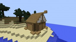 Cozy Cottage by the Beach Minecraft Map & Project