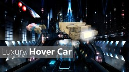 Luxury Hover Car - Fall [Schematic soon] - Pop reel! Minecraft