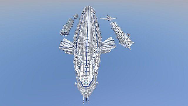 UN-AC1 Assault Carrier Minecraft Project