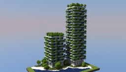 Bosco Verticale, Milan (Italy) Minecraft Project
