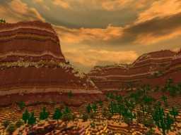 Canyons Minecraft Map & Project