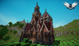 Abbey of Shadows Minecraft Project