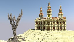 *~ Desert Palace ~* Minecraft Map & Project
