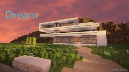 Dream - A Modern House [90 Subs Special] Minecraft
