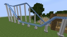 Rollercoaster Mod (Now Rideable!) Minecraft