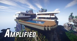 Amplified | Modern Home Minecraft Project