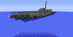 WW2 German E-Boat Minecraft Map & Project