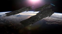 Halo 4 UNSC Frigate Minecraft Project