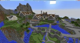 """Rivendell """"looking for builders!"""" Minecraft Map & Project"""