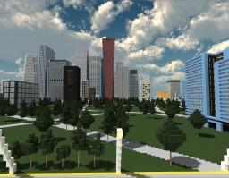 Modern City-in progress Minecraft Map & Project