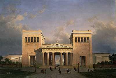 Painting by Leo von Klenze, 1848