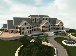 Luxury Mansion Minecraft Project