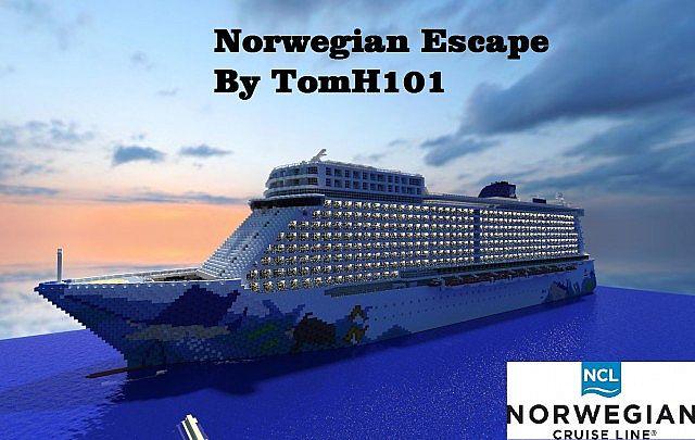 Norwegian Escape Cruise Ship 1 1 Replica Download Pop