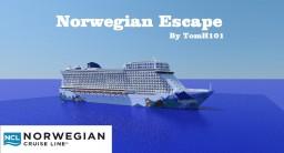 Norwegian Escape Cruise Ship 1:1 replica [+DOWNLOAD] [POP REEL]