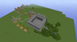 MASSIVE FORTRESS Minecraft Map & Project