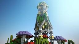 Little Fantasy Temple in Wonderland - Plot Minecraft