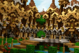 Mineous Factions Spawn Minecraft Map & Project