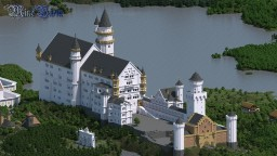 Neuschwanstein (with interior) Minecraft Map & Project