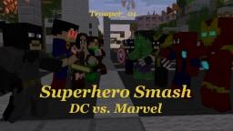 Superhero Smash - DC vs. Marvel PVP Minecraft Map & Project