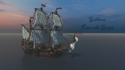 Galleon Peter the Great Minecraft Map & Project
