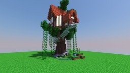 Small Tree House Schematic Minecraft Map & Project